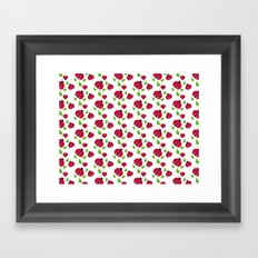Ladybird pattern Framed Art Print