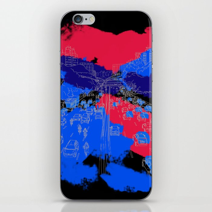 big city iPhone Skin
