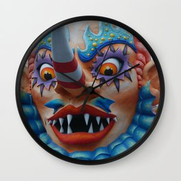 Father Carnival Wall Clock