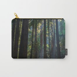 Red Woods & Sun Rays Carry-All Pouch