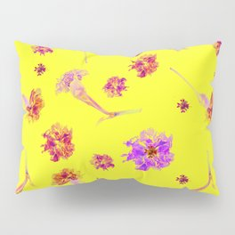 Carnations | Yellow Pillow Sham