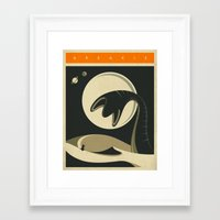 jazzberry Framed Art Prints featuring ARRAKIS by Jazzberry Blue