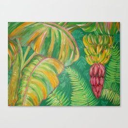 """Banana Patch"" Canvas Print"