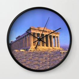 The Parthenon Wall Clock