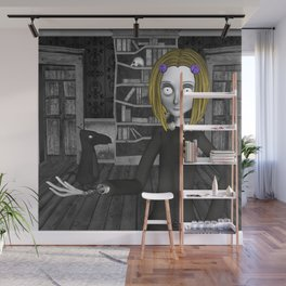 Lenore And The Raven Nevermore Wall Mural
