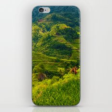 Banaue Rice Terraces Philippines iPhone Skin