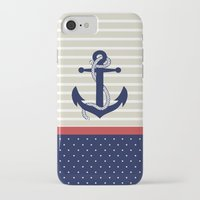 navy iPhone & iPod Cases featuring Navy by Vickn