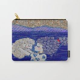 Melita and Maya at the beach Carry-All Pouch