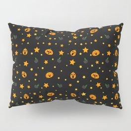 Spooky Pumpkin Pillow Sham