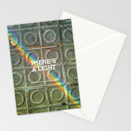 There's a light... Stationery Cards