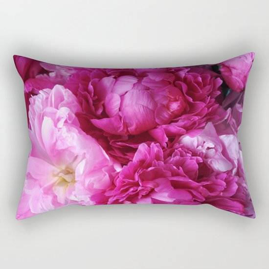 Peony Dreams Rectangular Pillow