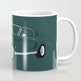 1968 Ford Mustang GT Coffee Mug