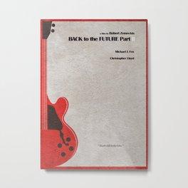 Back to the Future Part II Metal Print