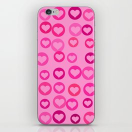 Love Hearts iPhone Skin