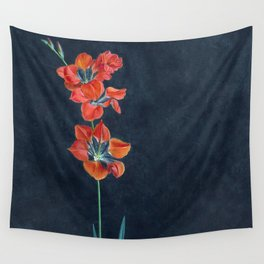 Gash Gold Vermilion Wall Tapestry