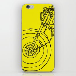 to hell with luck iPhone Skin