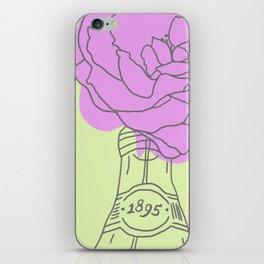 Rose and lemonade iPhone Skin