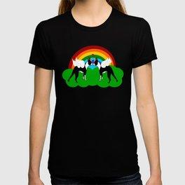 Boston Terrier Unicorn Love T-shirt