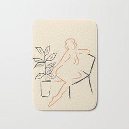 Nude Line Bath Mat