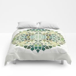 Herbal Tea - Voronoi Comforters