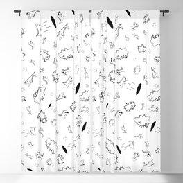 Cocrodile Collage Blackout Curtain