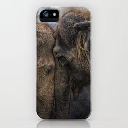 nighty night darling iPhone Case