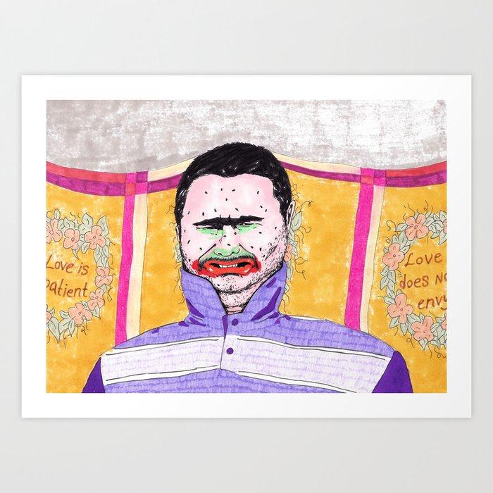 Don't Judge Me Art Print