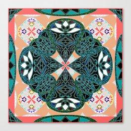 Elegant Soul Vintage Mandala Canvas Print