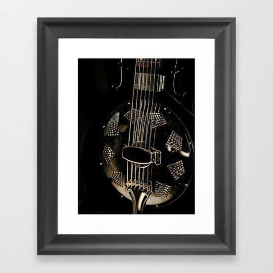 Resonator Framed Art Print