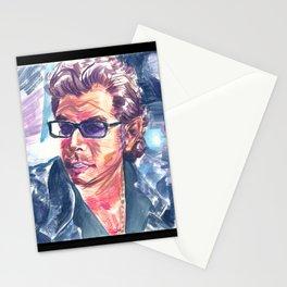 "Jurassic Park : Jeff Goldblum/Ian Malcom : ""Chaotician 4 / 4"" Stationery Cards"