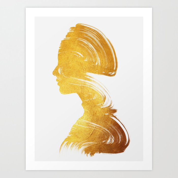 Discover the motif SEE - GOLD EDITION by Andreas Lie as a print at TOPPOSTER