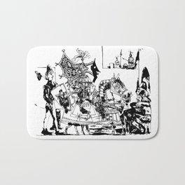 Pablo Picasso, Jeux de pages (Pages Games), 1951, Artwork Reproduction, Design for Men, Women, Kids Bath Mat