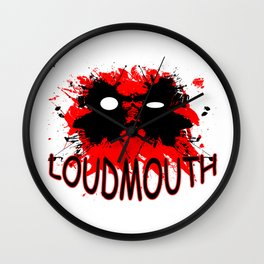 Loudmouth Wall Clock