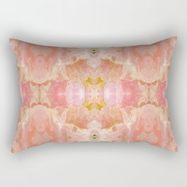 151 - abstract floral pattern Rectangular Pillow