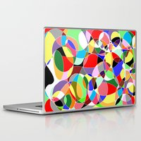 musa Laptop & iPad Skins featuring Love Doodles by DeMoose_Art