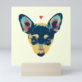 Pet Thoughts Mini Art Print