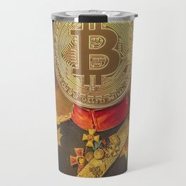 "Bit Coin Fanatic General | ""So Let Me Tell You About My Coin Base"" Travel Mug"