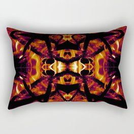 Eye of Fire Rectangular Pillow