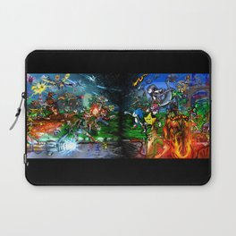 Nintendo Vs Sega Laptop Sleeve