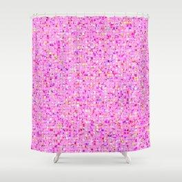 Antique Texture Lilac Shower Curtain