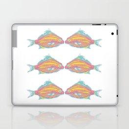 fish little kissing Laptop & iPad Skin