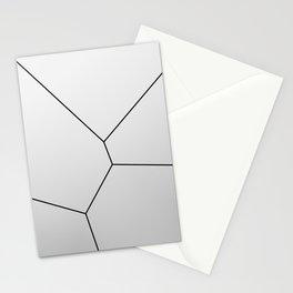 MNML BRKN SLVR Stationery Cards