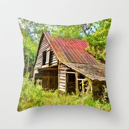 Russell Farmstead Throw Pillow
