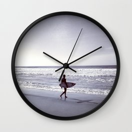Soul Surfer Wall Clock
