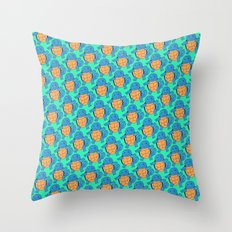 Squirtle Squad Throw Pillow