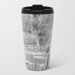 Claude Monet a Giverny Travel Mug