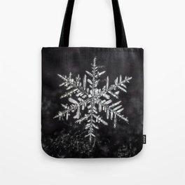 January Snowfake #5 Tote Bag