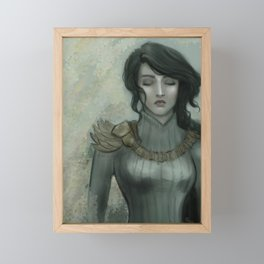 Dark Princess Framed Mini Art Print
