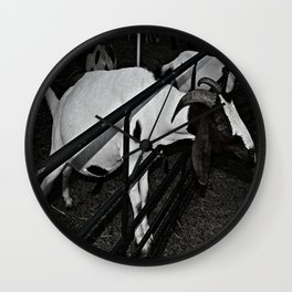Feed Me Wall Clock