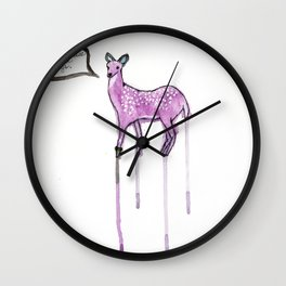 Essay Writing Deer Wall Clock
